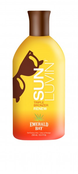 Emerald Bay - Sun Luvin', Triple Natural Bronzer - Renew - 250ml